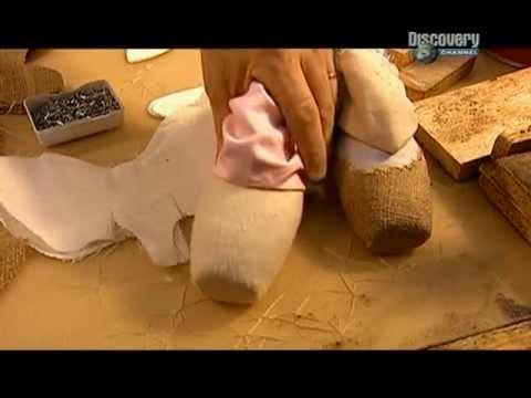 Как сделать пуанты для куклы
