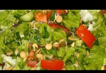 Diet-salat-s-proroshhennoj-CHechevitsoj.-Diet-the-salad-with-the-germinated-Lentil