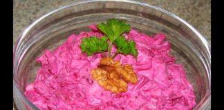 Salat-iz-svekly-s-chesnokom-i-gretskim-orehom